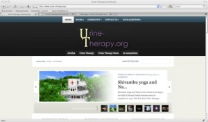 urine-therapy.org history