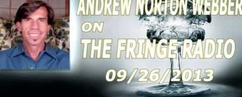 Andrew Norton Webber On The Fringe Radio – Alchemy Is Urine Therapy [09/26/2013]