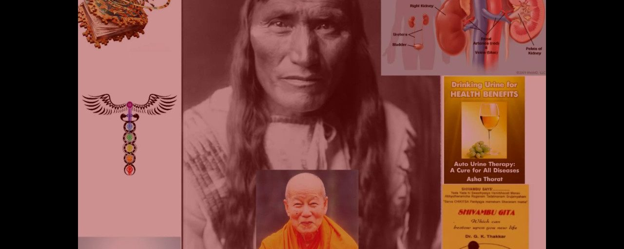 Urine Therapy, Heritage/Hair, Native Shamans, Monks