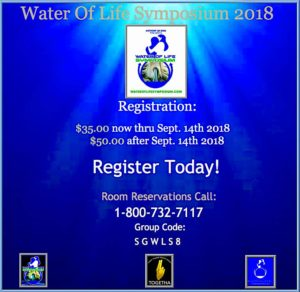 Water of Life Symposium 2018
